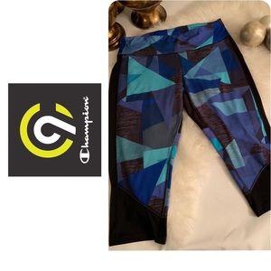 CHAMPION multicolor sport leggings size XXL